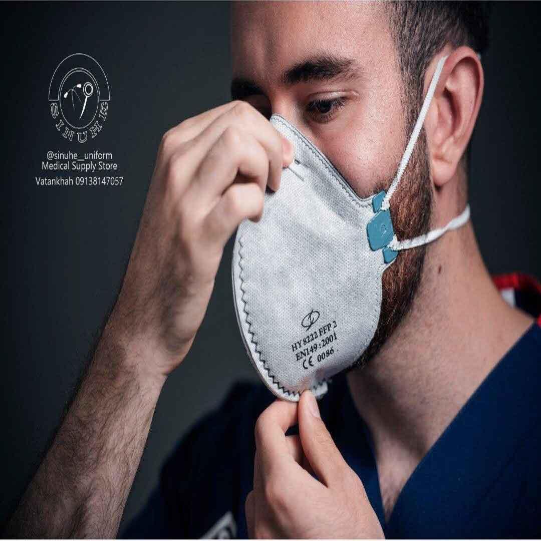 ماسک ffp2 فیلتر دار (بسته 40عددی)